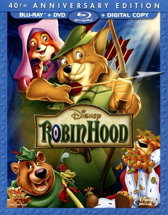 Robin Hood [40th Anniversary Edition] [Blu-ray] [1973] 1024317