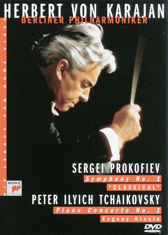 Herbert Von Karajan: Prokofiev - Symphony No. 1/Tchaikovsky: Piano Concerto No. 1 [DVD] [1988] 10323054