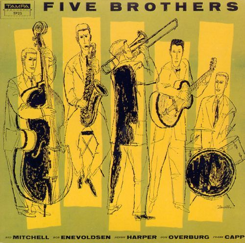 Five Brothers [CD] 10531463