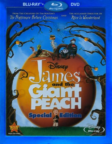 James and the Giant Peach [Special Edition] [2 Discs] [Blu-ray/DVD] [1996] 1061413