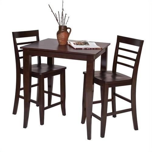 Office Star Furniture - Jamestown Pub Table - Brown