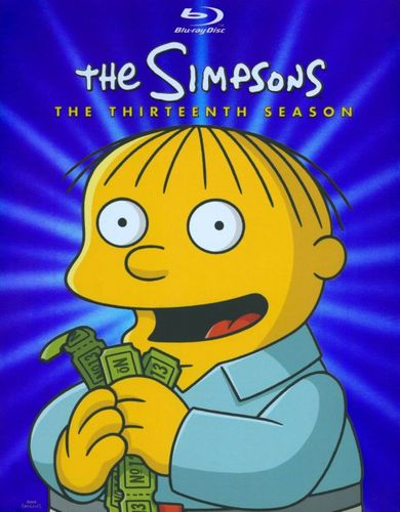The Simpsons: The Thirteenth Season [3 Discs] [Blu-ray] 1067569