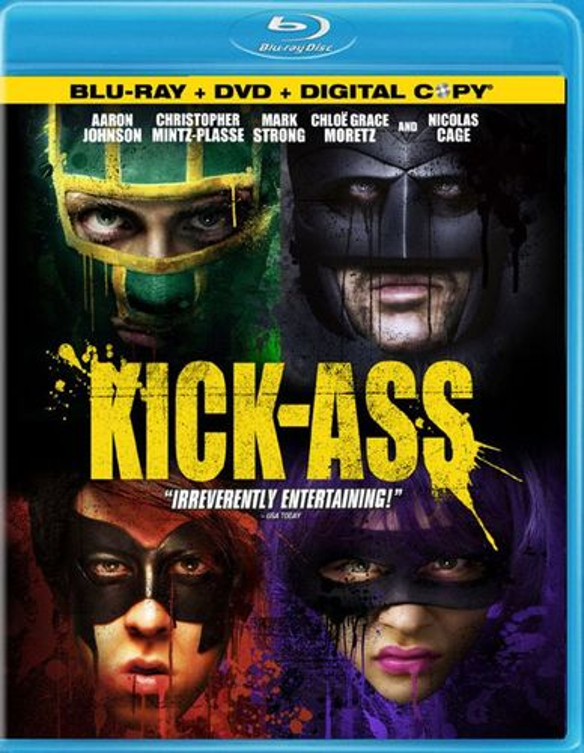 Kick-Ass [3 Discs] [Includes Digital Copy] [Blu-ray/DVD] [2010] 1067587