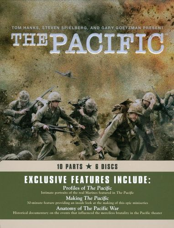 The Pacific [6 Discs] [DVD] [2010] 1068425
