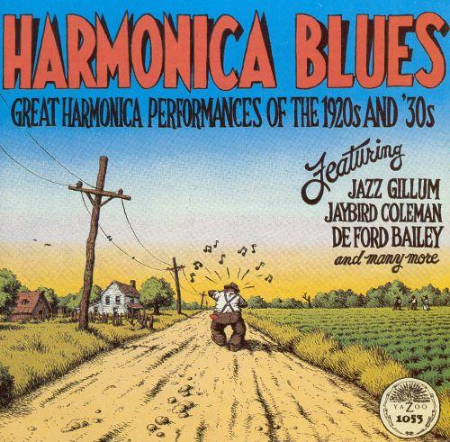 Harmonica Blues [Yazoo] [CD] 1080047