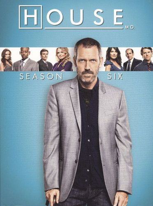 House: Season Six [5 Discs] [DVD] 1089406