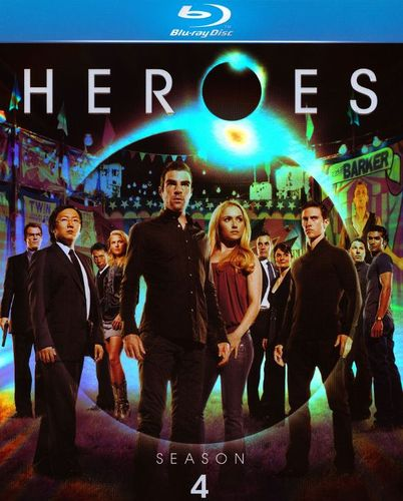 Heroes: Season 4 [4 Discs] [Blu-ray] 1089451