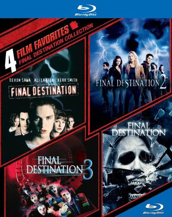 Final Destination Collection: 4 Film Favorites [4 Discs] [Blu-ray] 1097202