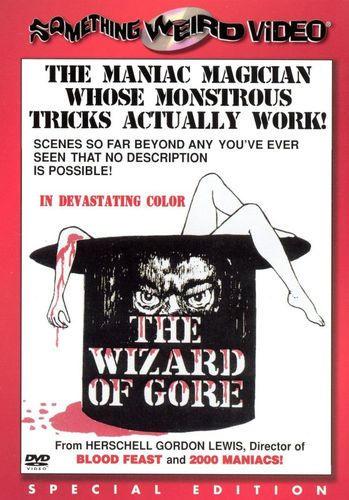 The Wizard of Gore [DVD] [1970] 11037521