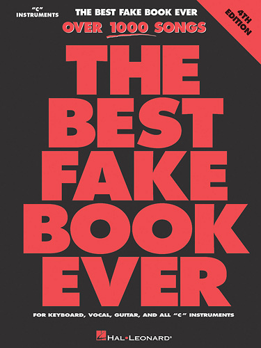 Hal Leonard - Various Artists: The Best Fake Book Ever 4th Edition Sheet Music - Multi