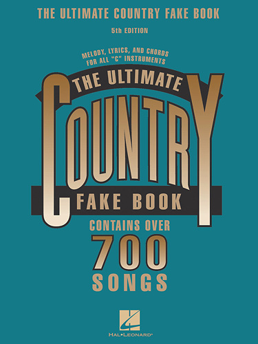 Hal Leonard - Various Artists: The Ultimate Country Fake Book 5th Edition Sheet Music - Multi
