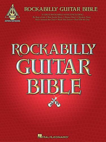 Hal Leonard - Various Artists: Rockabilly Guitar Bible Sheet Music - Multi 1113729