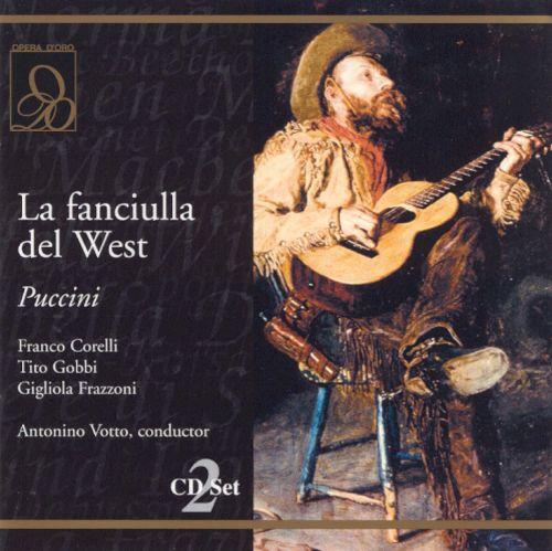 Puccini: La fanciulla del West [CD] 11234096