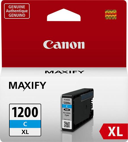 Canon - PGI-1200 XL High-Yield Ink Cartridge - Cyan