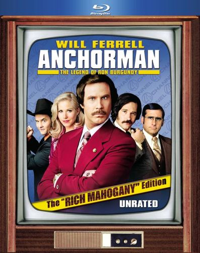 "Anchorman: The Legend of Ron Burgundy [The ""Rich Mahogany"" Edition] [2 Discs] [Blu-ray] [2004] 1149969"