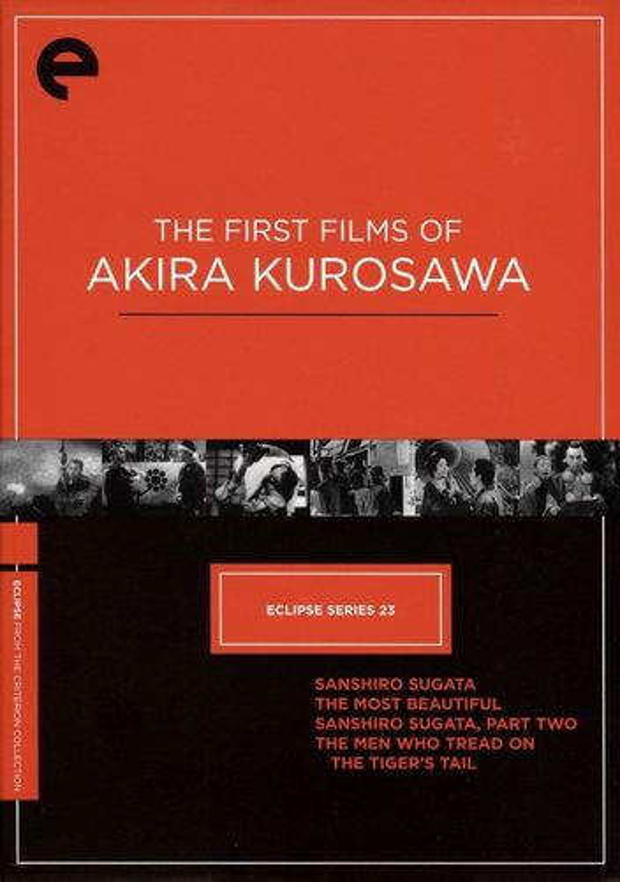The First Films of Akira Kurosawa [Criterion Collection] [4 Discs] [DVD] 1150295