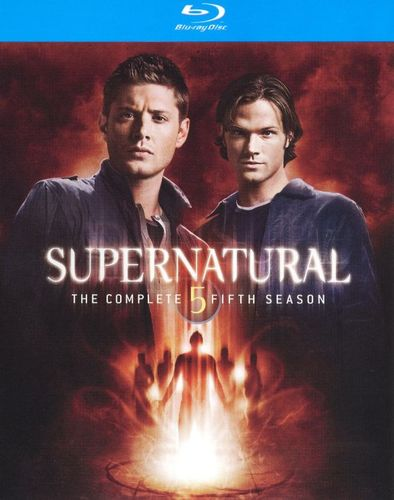 Supernatural: The Complete Fifth Season [4 Discs] [Blu-ray] 1155906