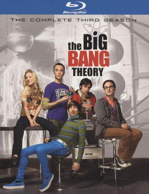 The Big Bang Theory: The Complete Third Season [2 Discs] [Blu-ray] 1171079
