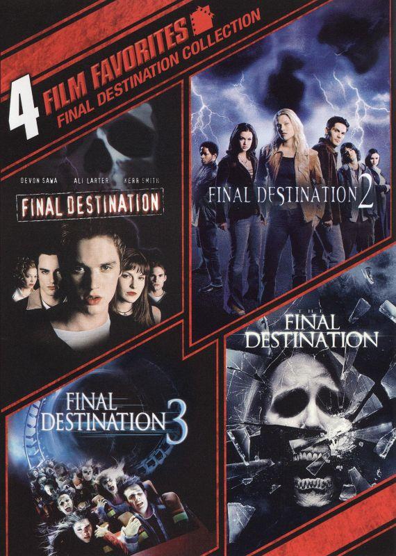 Final Destination Collection: 4 Film Favorites [WS] [2 Discs] [DVD] 1171103