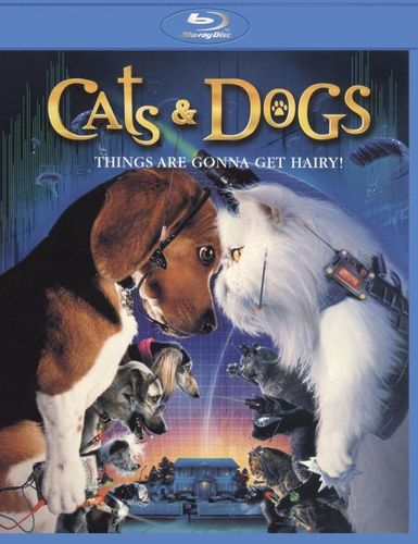 Cats & Dogs [With Movie Cash] [Blu-ray] [2001] 1171167