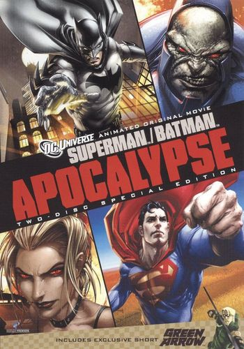 Superman/Batman: Apocalypse/Green Arrow [Special Edition] [2 Discs] [DVD] 1171185
