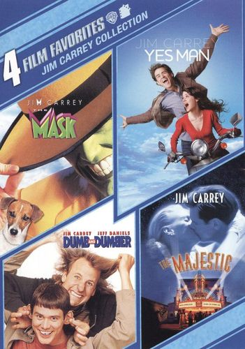 Jim Carrey Collection: 4 Film Favorites [2 Discs] [DVD] 1171264