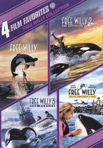 Free Willy Collection: 4 Film Favorites [2 Discs] [DVD] 1171307