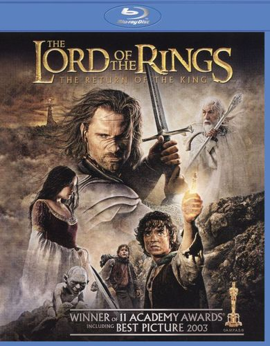 The Lord of the Rings: The Return of the King [2 Discs] [Blu-ray/DVD] [2003] 1171325
