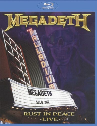 Rust in Peace Live [Blu-Ray Disc] 1175994