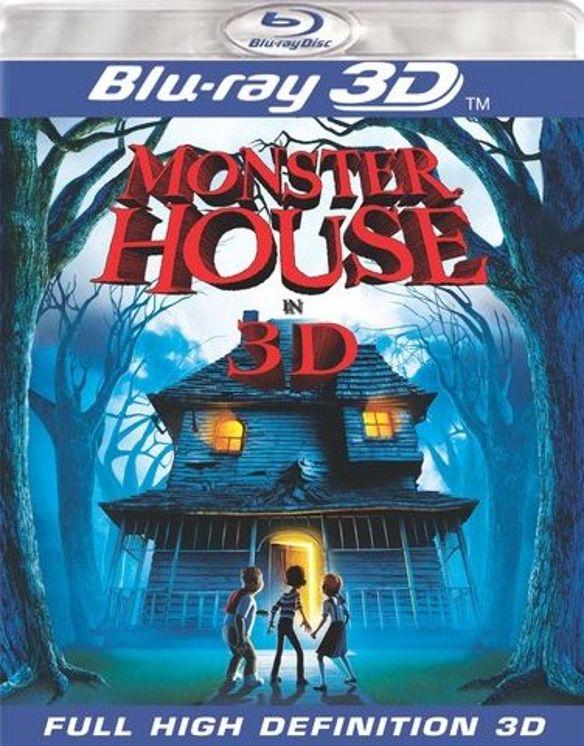 Monster House [3D] [Blu-ray] [Blu-ray/Blu-ray 3D] [2006] 1202713