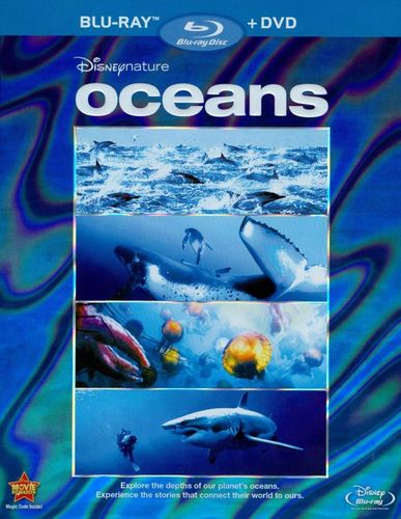 Disneynature: Oceans [Blu-ray/DVD] [2009] 1215362