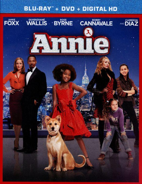 Annie [2 Discs] [Includes Digital Copy] [Ultraviolet] [Blu-ray/DVD] [2014] 1216004