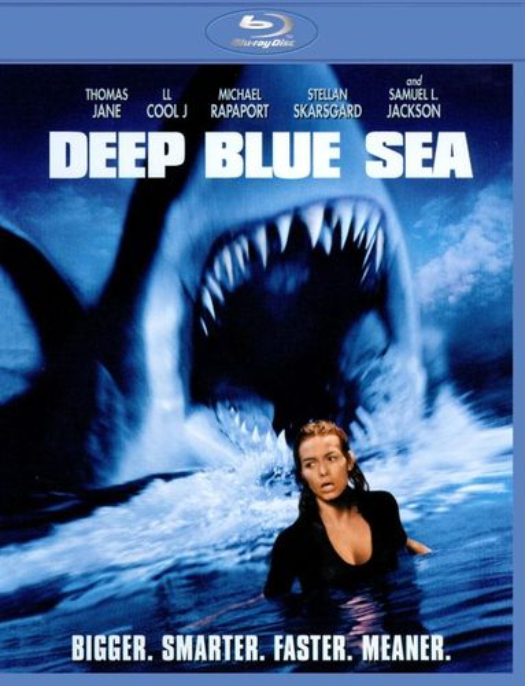 Deep Blue Sea [Blu-ray] [1999] 1216282