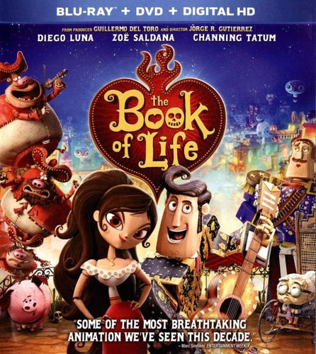 The Book of Life [2 Discs] [Blu-ray/DVD] [2014] 1223012