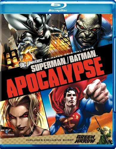Superman/Batman: Apocalypse/Green Arrow [Blu-ray] 1238062