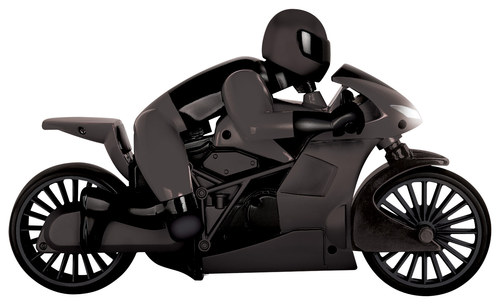 Black Series - Remote-Controlled Racing Motorcycle - Matte Black 1242156