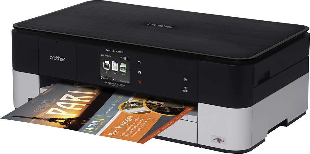 Brother MFC-J4320DW Wireless All-In-One Printer Black/Gray