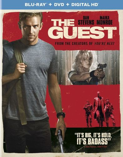 The Guest [2 Discs] [Includes Digital Copy] [UltraViolet] [Blu-ray/DVD] [2014] 1242515