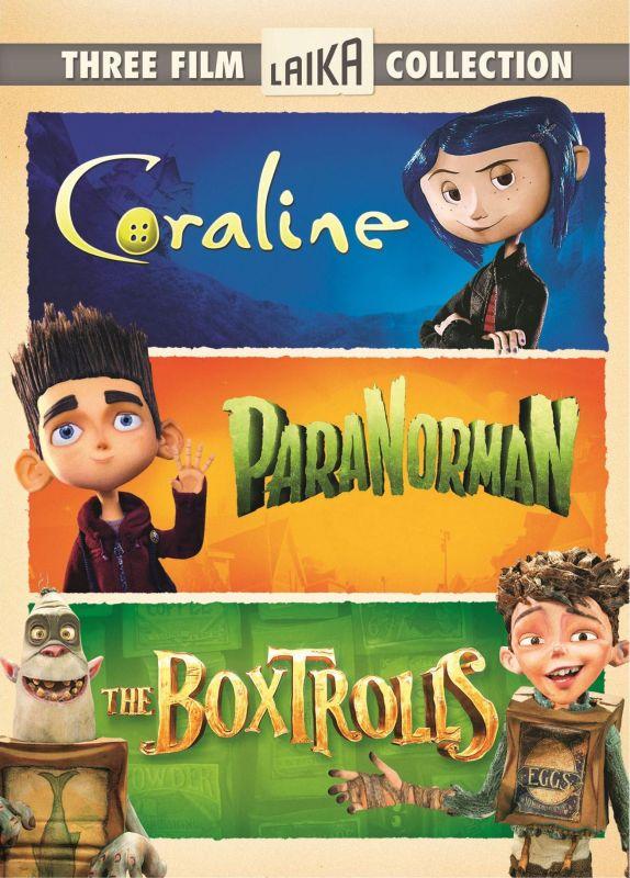 Three Film Laika Collection: Coraline/ParaNorman/The Boxtrolls [3 Discs] [DVD] 1242533