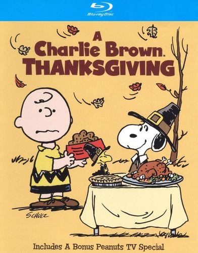 A Charlie Brown Thanksgiving/The Mayflower Voyagers [Blu-ray] 1245089