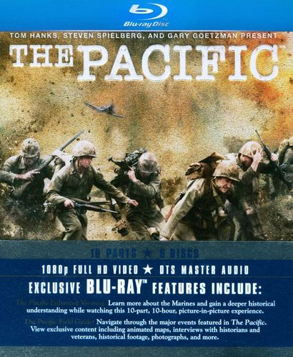 The Pacific [6 Discs] [Blu-ray] [2010] 1247951