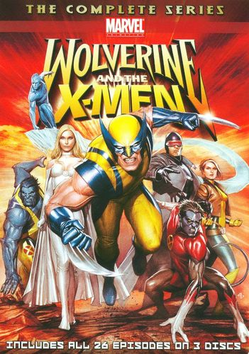 Wolverine and the X-Men: The Complete Series [3 Discs] [DVD] 1253458
