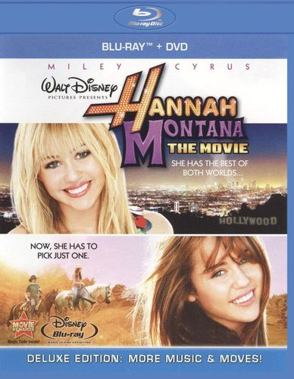 Hannah Montana: The Movie [2 Discs] [Blu-ray/DVD] [2009] 1255696