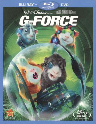 G-Force [2 Discs] [Blu-Ray/DVD] [Blu-ray/DVD] [2009] 1255705