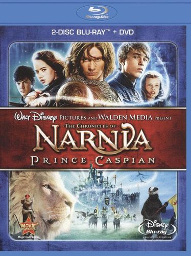 The Chronicles of Narnia: Prince Caspian [2 Discs] [Blu-ray/DVD] [2008] 1255896