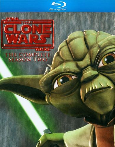 Star Wars: The Clone Wars - The Complete Season Two [4 Discs] [DigiBook] [Blu-ray] 1258083