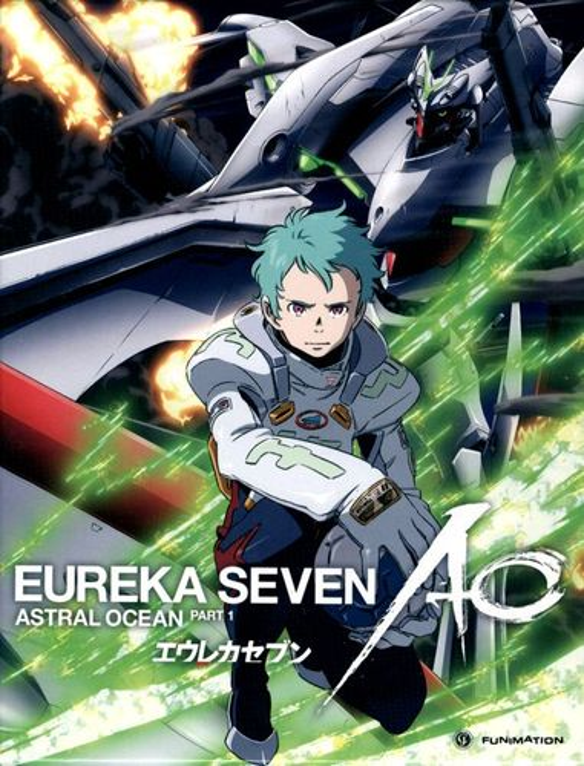 Eureka Seven: AO, Part 1 [4 Discs] [Blu-ray] 1263207