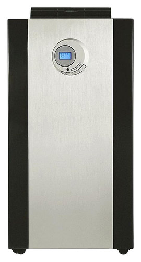 Whynter - 500 Sq. Ft. Portable Air Conditioner - Platinum/Black 1265684