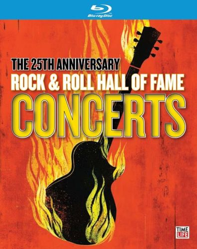 Image of 25th Anniversary Rock & Roll Hall of Fame Concerts [Blu-Ray] [Blu-Ray Disc]
