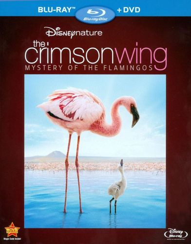 Disneynature: The Crimson Wing - Mystery of the Flamingos [Blu-ray/DVD] [2008] 1277728